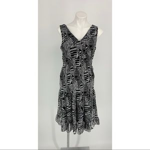 Essentials By Milano Sleeveless Dress Size 12